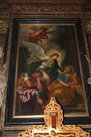 Giovanni Ghisolfi - Giovanni Ghisolfi, Saint Peter Freed from Prison, Santa Maria della Vittoria