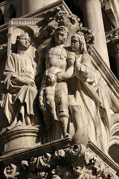4395 - Venezia - Pietro Lamberti o Nanni di Bartolo, Giudizio di Salomone - Foto Giovanni Dall'Orto, 31-Jul-2008.jpg