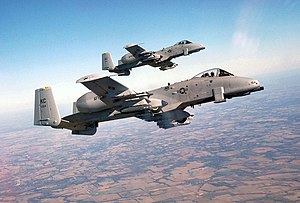 Whiteman Air Force Base - A-10s of the 442d Fighter Wing