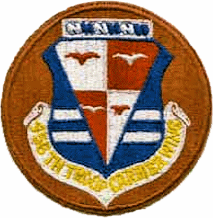 456th Bombardment Wing - Image: 456troopcarrierwing patch