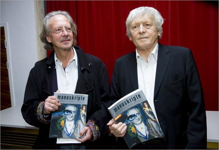 50 Jahre Manuskripte - Alfred Kolleritsch und Peter Handke