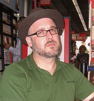 Ed Brubaker - Brubaker at a book signing at Midtown Comics Times Square on June 21, 2010.