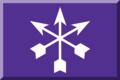 600px Viola con tre frecce Bianche.png