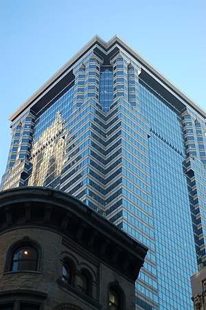 60 Wall Street - Image: 60 Wall Street building
