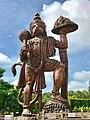 61 feet colossal Hanuman south Karnataka India.jpg