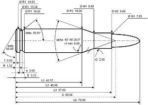 7.62mm UKM - Image: 7.62 UKM
