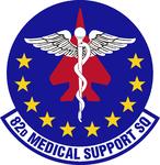 82 Medical Support Sq emblem.png