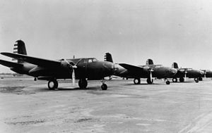 United States Army Air Forces in Australia - A-20 aircraft of the 6th Bomb Group, 89th Bomb Squadron