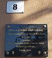 8 Ady Street, plaque, 2020 Sárvár.jpg