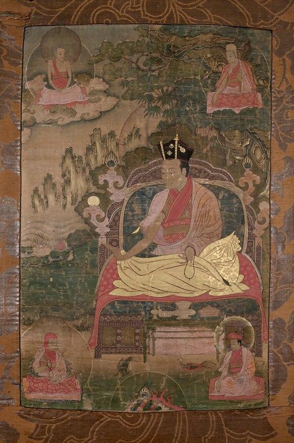 8th Karmapa with disciples