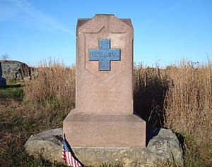 93rd Pennsylvania Infantry - Image: 93rd PA Infantry MN110