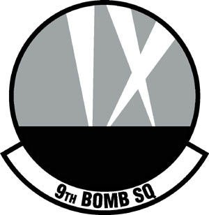 9th Bomb Squadron Patch