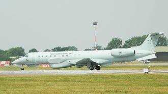 Embraer R-99 - Image: A2805 Brazil R99B 6750 RIAT2013