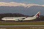 A7-AAH Airbus A340-313 A343 - QAF (24267637680).jpg
