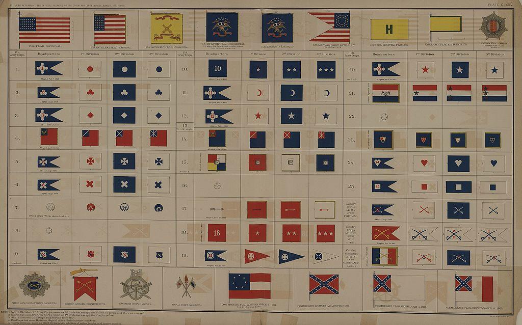 file american civil war flags jpg wikimedia commons