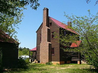 Andrews-Moore House - Image: AM Front