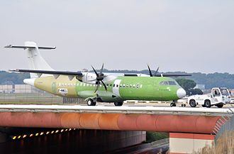 ATR 72 - An ATR prior to painting at Toulouse