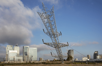 London Design Festival - 'A Bullet from a Shooting Star' installation at Greenwich Peninsula, 2015.