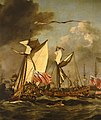 A Royal Visit to the Fleet in the Thames Estuary, 1672 RMG BHC0299B.jpg