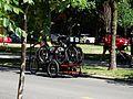 A bicyclist transports Bikeshare bikes, 2016 07 18 (1) (28319141412) (2).jpg