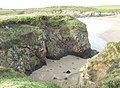 A cave in Twll Bwgan cove - geograph.org.uk - 1060438.jpg