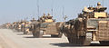 A convoy of Warrior infantry fighting vehicles (IFVs) patrolling near Musa Qala, Afghanistan. MOD 45149486.jpg