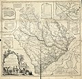 A map of the province of South Carolina with all the rivers, creeks, bays, inletts, islands, inland navigation, soundings, time of high water on the sea coast, roads, marshes, ferrys, bridges, swamps, LOC 74692124.jpg
