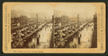 A rainy day, Michigan Avenue, Chicago, from Robert N. Dennis collection of stereoscopic views.png