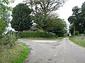 A rural roundabout - geograph.org.uk - 1583025.jpg
