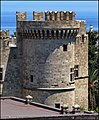 A tower of the palace of de Grand Master - Rhodes - panoramio.jpg