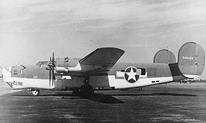 361st Tactical Missile Squadron - B-24 equipped for antisubmarine warfare