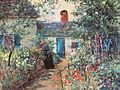 Abbott Fuller Graves - Flower garden, Kennebunkport, Maine.jpg
