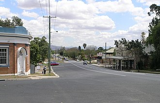Aberdeen, New South Wales - New England Highway, Aberdeen