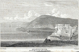 Aberystwith: from the Castle Hill: south Wales