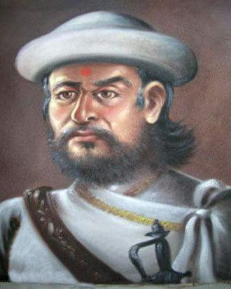 Chhetri - Abhiman Singh Basnyat, a Basnyat Kshetri Mulkaji (Prime Minister)
