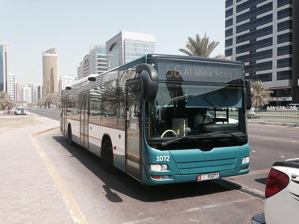 Abu Dhabi Bus 56