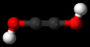 Acetylenediol - Image: Acetylenediol 3D balls