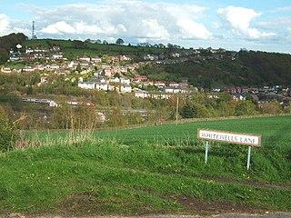 Ambergate village in United Kingdom