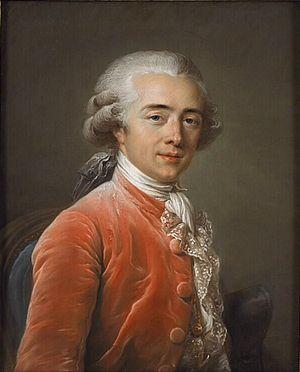 François-André Vincent - Portrait of François-André Vincent by Adélaïde Labille-Guiard, painted 1783