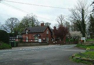 Adderley village in the United Kingdom