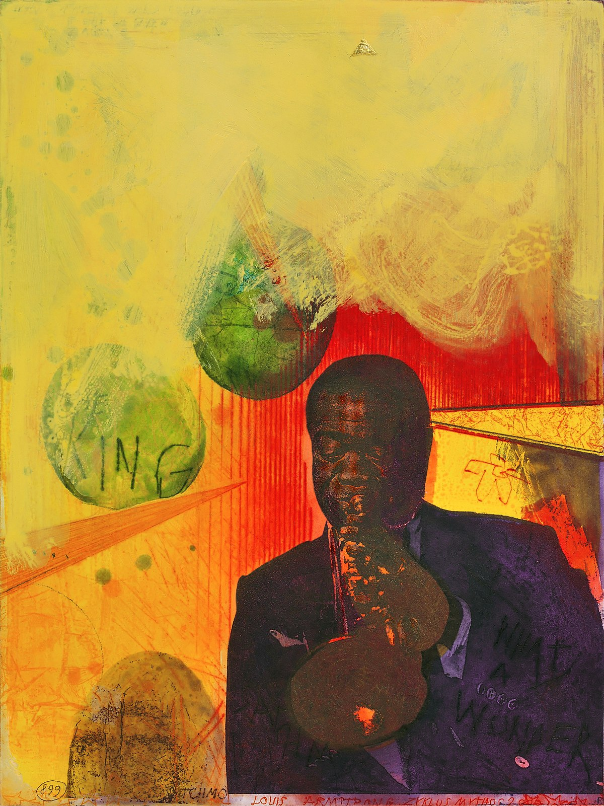 Louis Armstrong Et Son Orchestre Sings The Blues