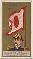 Admiral First Rank, Japan, from the Naval Flags series (N17) for Allen & Ginter Cigarettes Brands MET DP834925.jpg