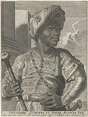 Portrait of Mulay al-Rashid, sultan of Morocco