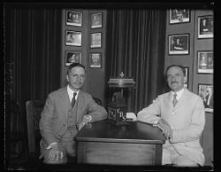 Adrian Recinos Guatemala with Dr. Rowe of CBS in 1930.jpg