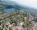 Aerial photograph of Dorog.jpg