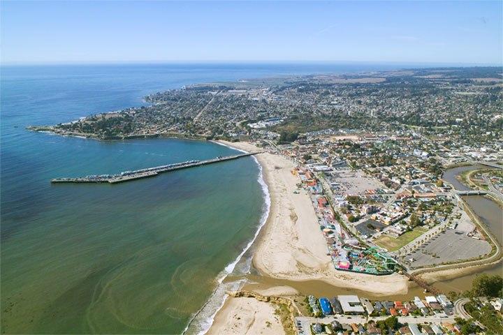 Aerial view - Santa Cruz CA
