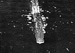 Aerial view of USS Randolph (CVA-15) underway at sea, circa in 1957.jpg
