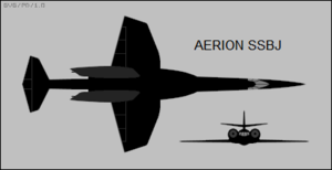 Aerion SSBJ two-view silhouette.png