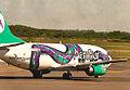 AeroSur 737, EZE, 18th. Jan. 2011 - Flickr - PhillipC.jpg