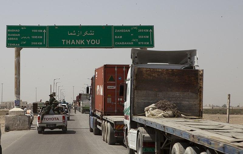 File:Afghanistan-Iran border in Zaranj, Afghanistan, 2011.jpg